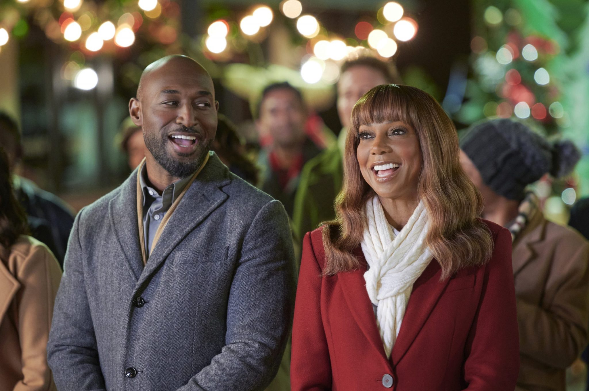 Hallmark, The Christmas Doctor, Photo: Adrian Holmes, Holly Robinson Peete Credit: ©2020 Crown Media United States LLC/Photographer: Hugh Tull