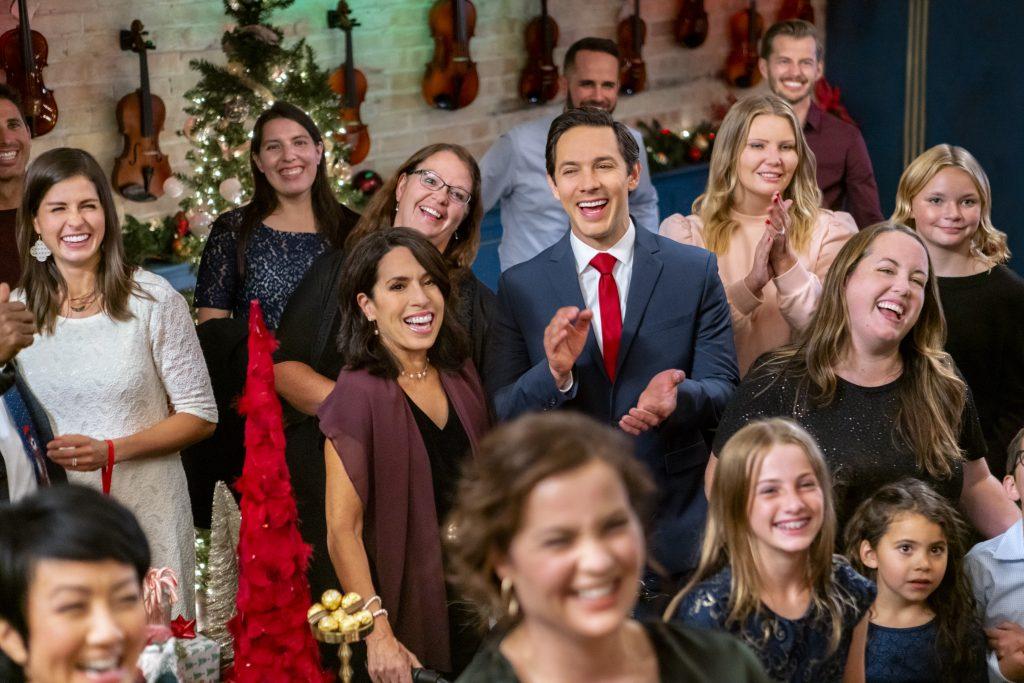 Michael Rady, The Christmas Bow, Hallmark, Photo: Joy Perry, Michael Rady Credit: ©2020 Crown Media United States LLC/Photographer:Natalie Cass