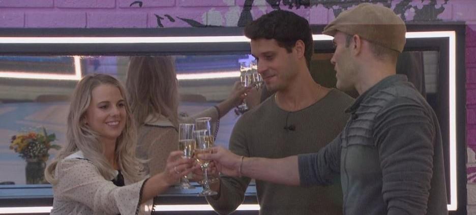 The final three 'Big Brother All Stars' via Instagram