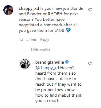 brandi glanville instagram comments