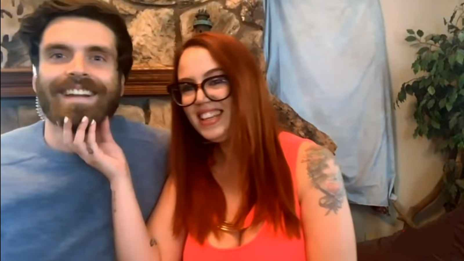 90 Day Fiance star Jess Caroline with husband Brian Hanvey