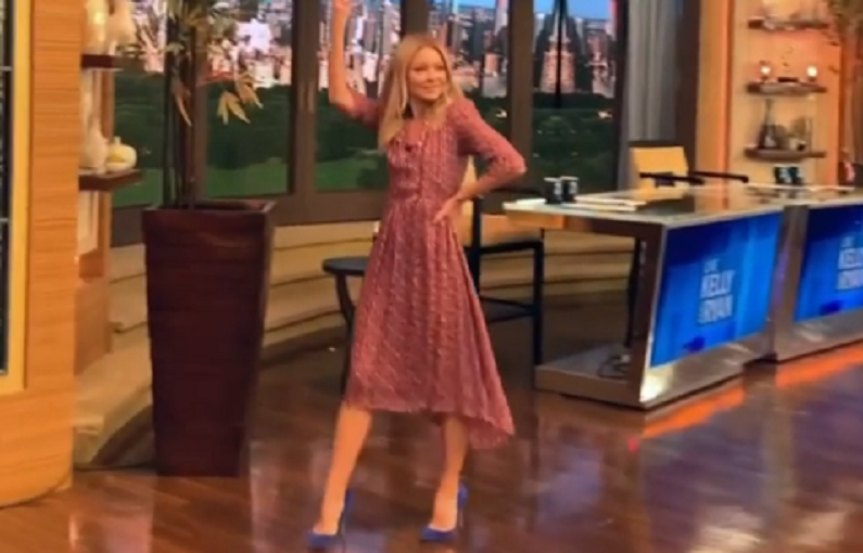 live with kelly ripa instagram clip