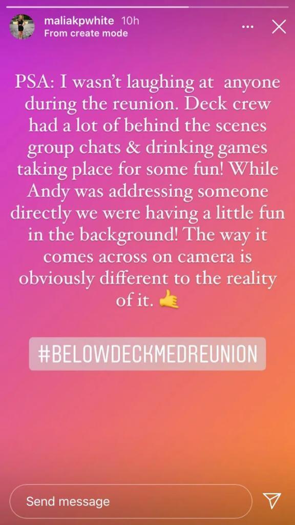 malia white instagram stories