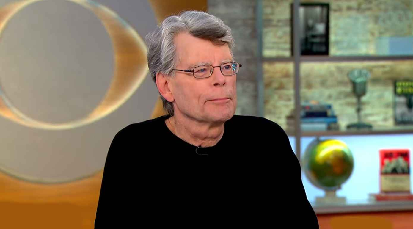 Stephen King, author of The Outsider