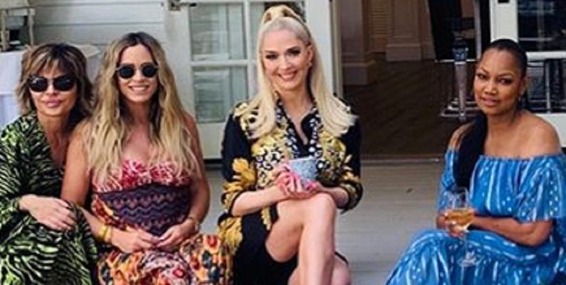 teddi mellencamp with rhobh ladies instagram