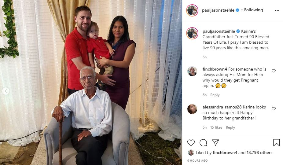 90 Day Fiance Paul and Karine with grandpa
