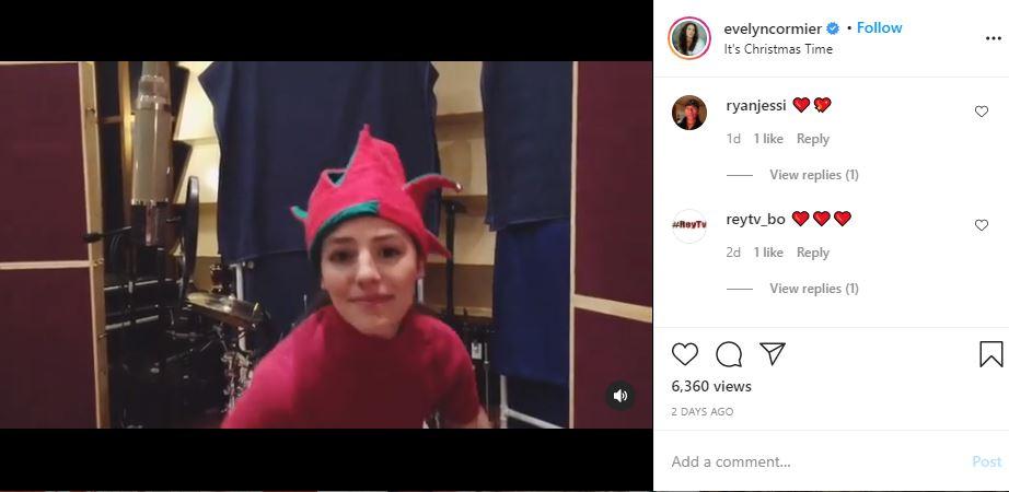 90 Day Fiance alum Evelyn Cormier drops Christmas single