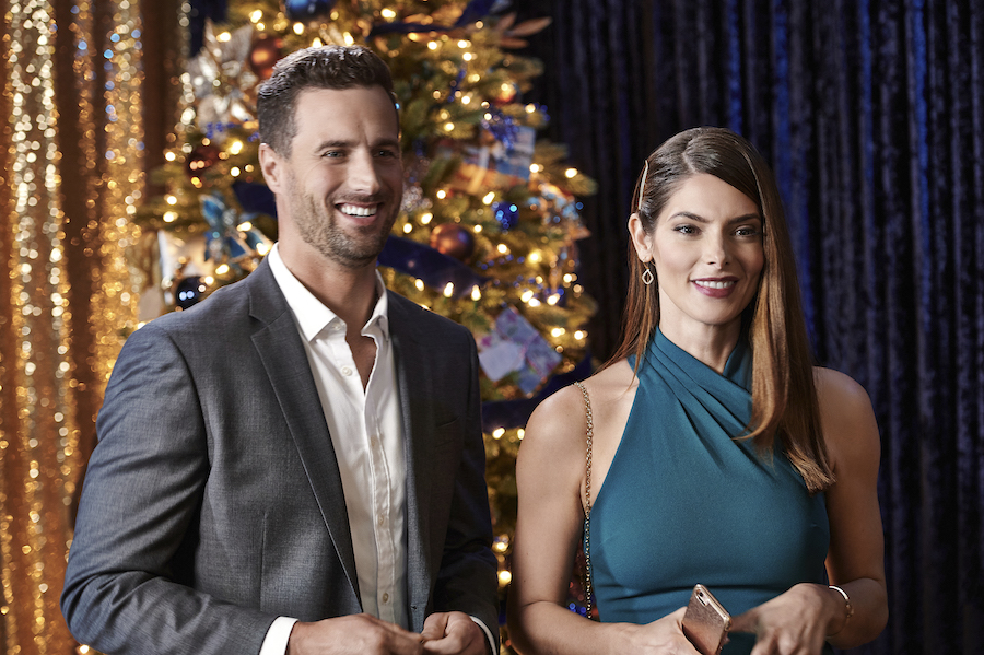 A Little Christmas Charm, Hallmark, Photo: Brendan Penny, Ashley Greene Credit: ©2020 Crown Media United States LLC/Photographer: Courtesy of Hugh Tull