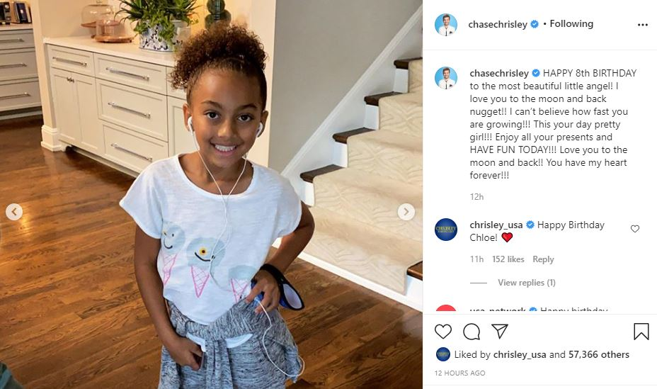 Chase Chrisley shares about Chloe birthday