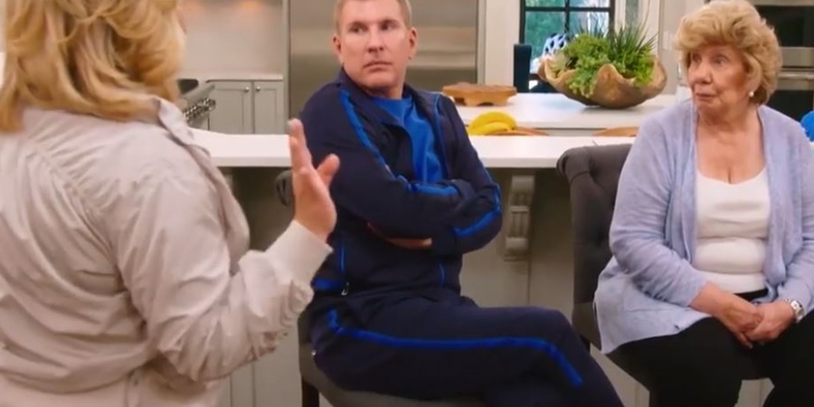 Chrisley Knows Best Todd and Nanny Faye argue
