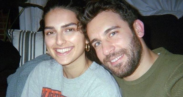 Derek Peth and Saffron Vadher
