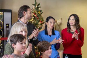 Hallmark, Unlocking Christmas, Photo: Steve Lund, Elena Juatco, Taylor Cole Credit: ©2020 Crown Media United States LLC/Photographer:Albert Camicioli
