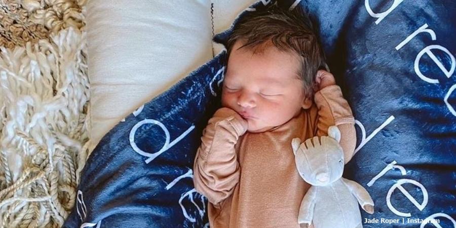 Jade Roper and Tanner Tolbert baby boy