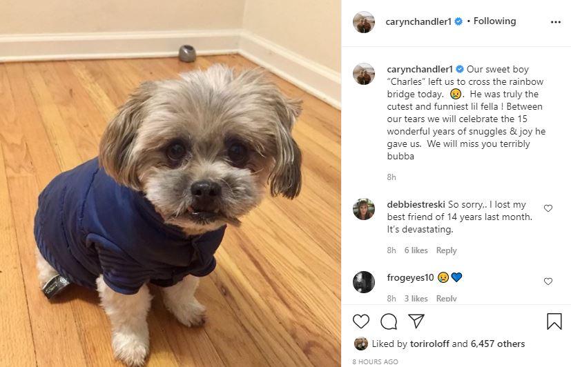 LPBW Caryn Chandler's dog Charles