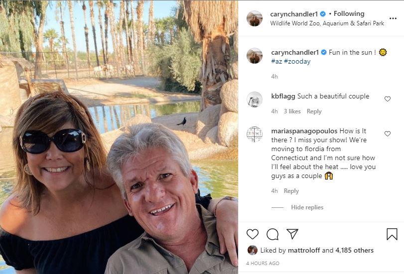 Matt Roloff Caryn Visit Safari Park Arizona