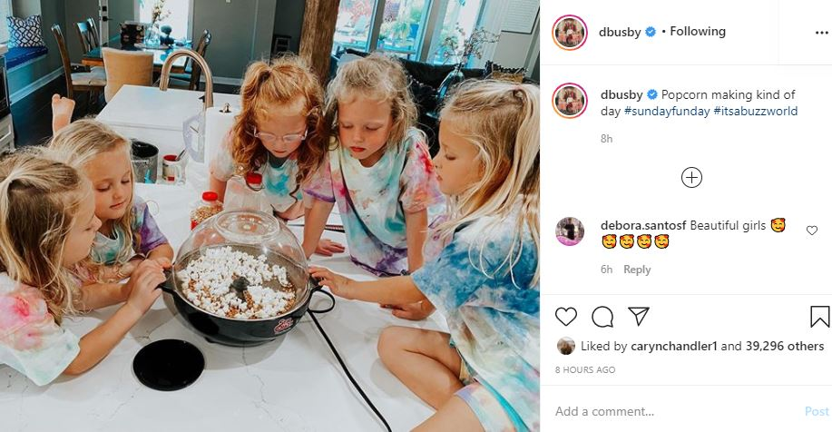 OutDaughtered Sunday popcorn