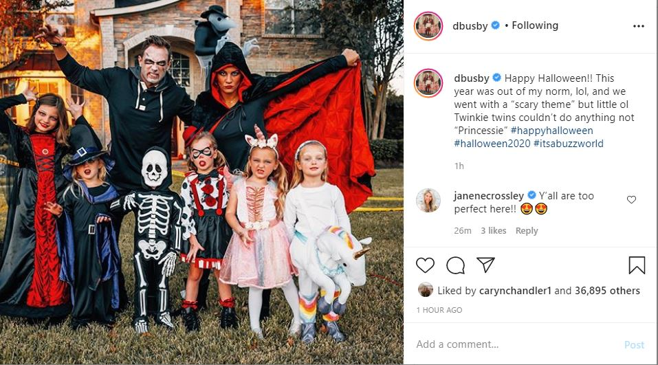 OutDaughtered Twins at Halloween