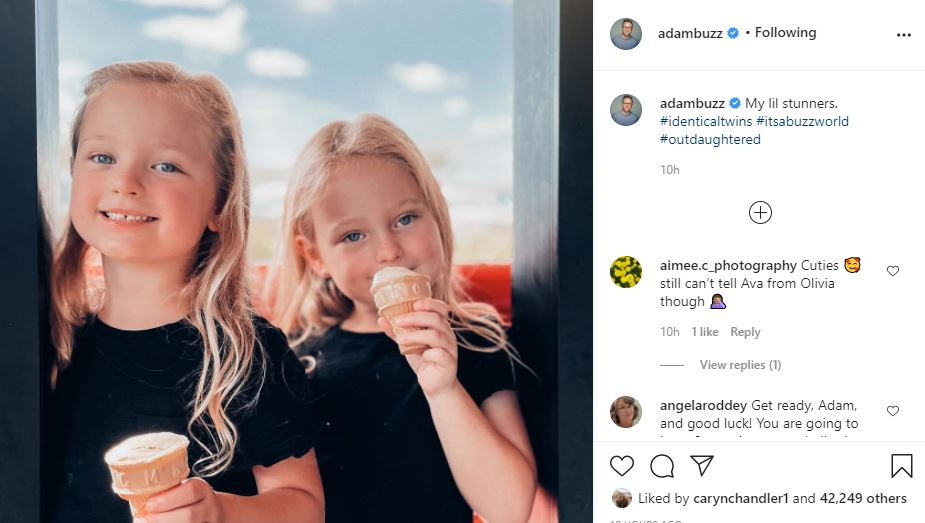 OutDaughtered quints Ava and Olivia