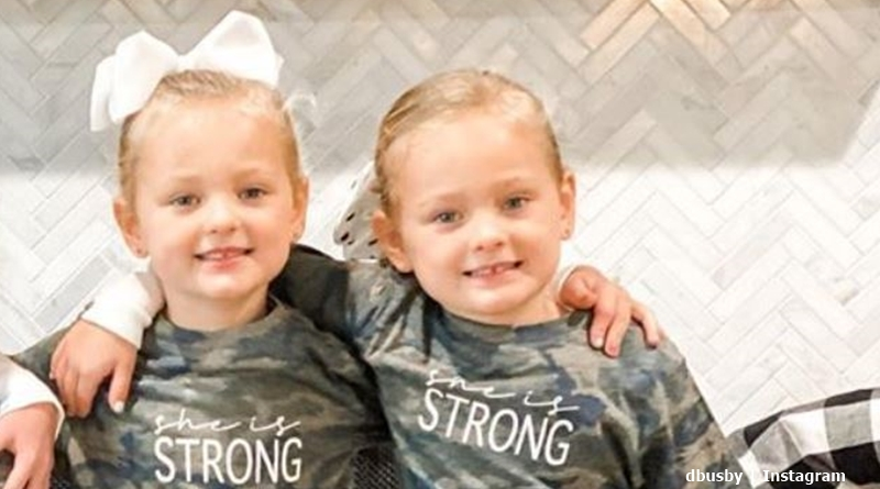 OutDaughtered twins Ava and Olivia