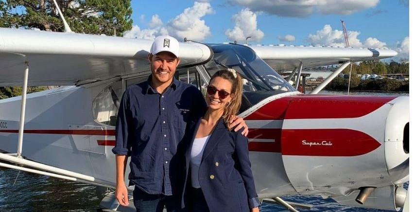 Peter Weber and girlfriend Kelley Flanagan