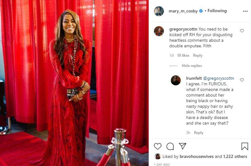 RHOSLC Mary Cosby Instagram