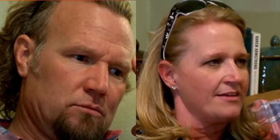 Sister Wives Kody and Christine Brown