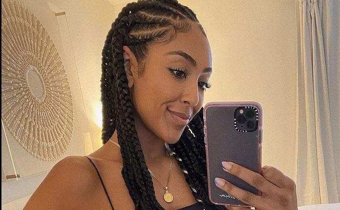 Tayshia Adams new look