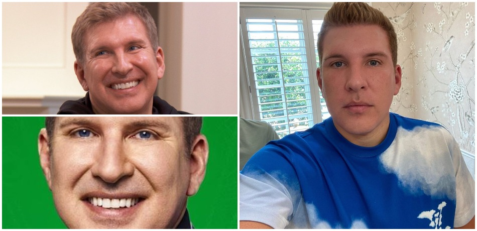 Todd Chrisley Instagram collage