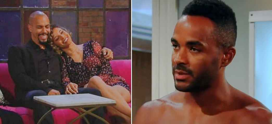 Devon, Elena and Nate on The Young and the Restless