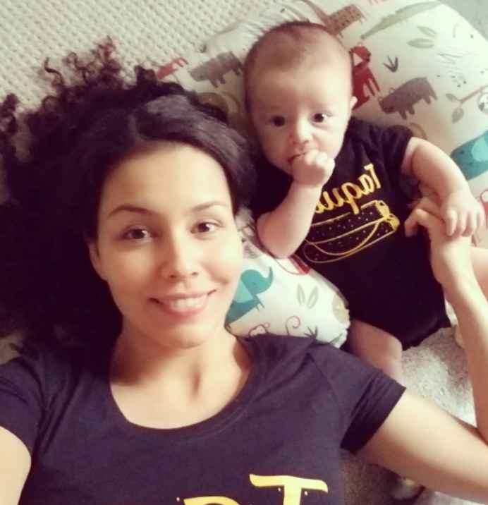 Evelyn and Justin Halas of '90 Day Fiance' have a new baby boy Nathan