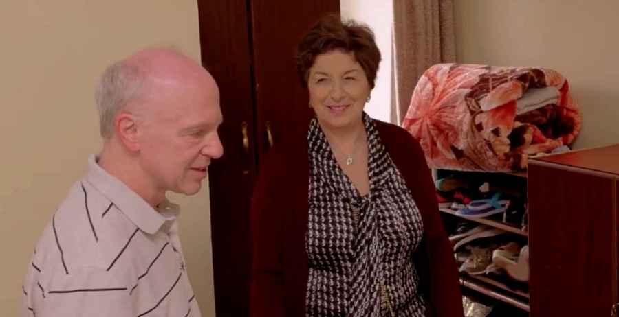 90 Day Fiance star Ariela Weinberg's parents, Fred and Janice tour their apartment