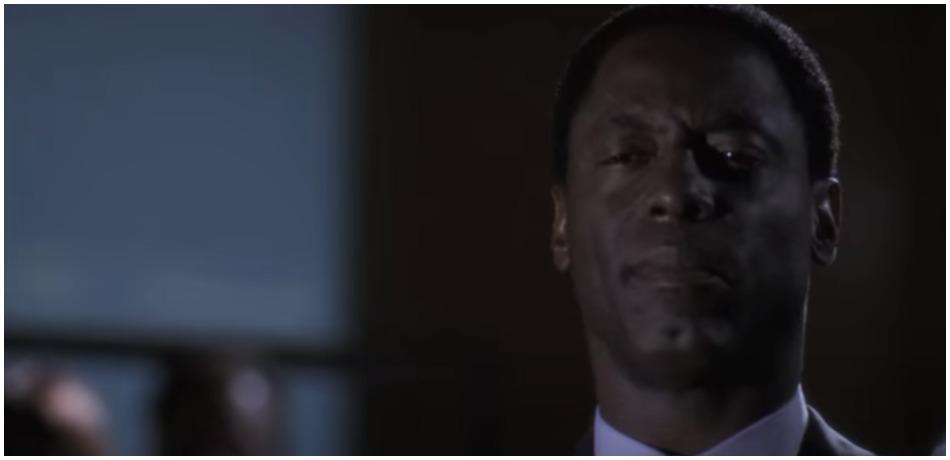 Isaiah Washington as Preston Burke on 'Grey's Anatomy.' (Credit ABC/YouTube)