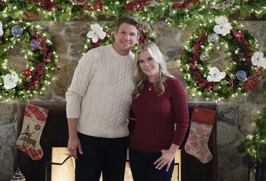 Hallmark, Good Morning Christmas- Photo: Marc Blucas, Alison Sweeney Credit: ©2020 Crown Media United States LLC/Photographer:David Astorga
