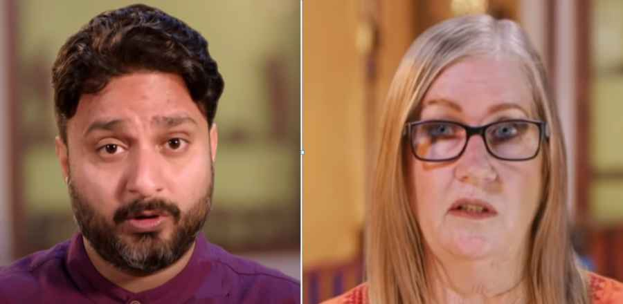 90 Day Fiance stars Sumit and Jenny