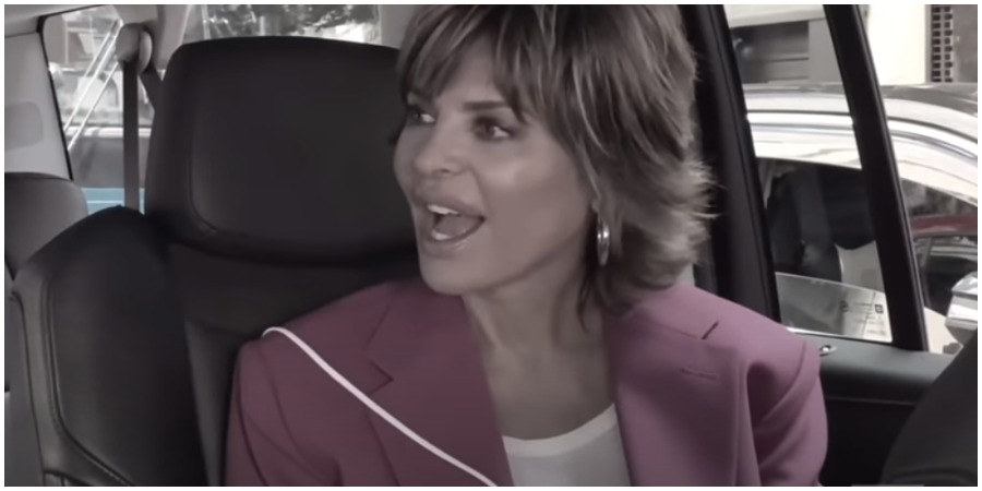 Lisa Rinna's reaction to Scott Disick and Amelia Hamlin's relationship revealed. (Credit Bravo/YouTube)