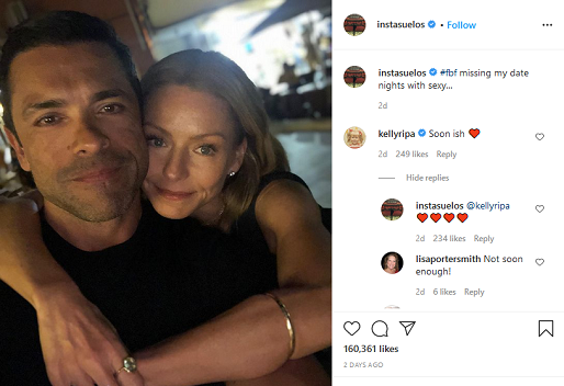 mark consuelos misses kelly ripa instagram