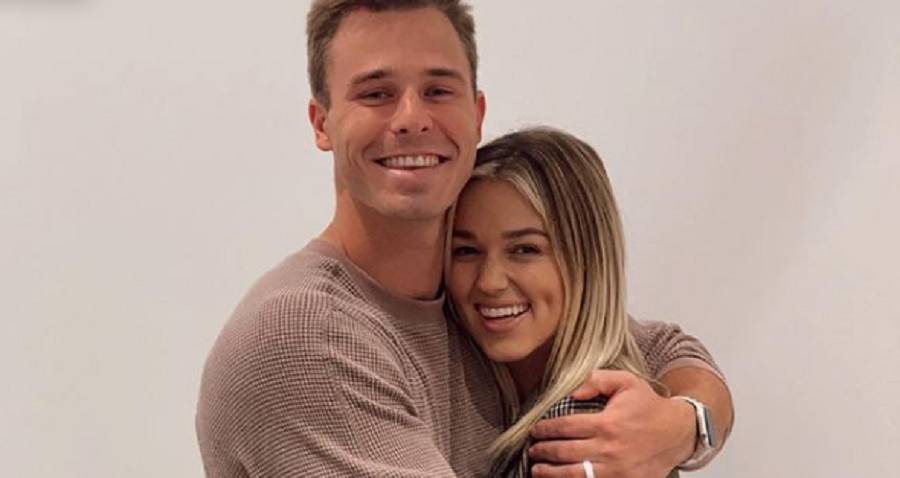 sadie robertson and christian huff instagram post