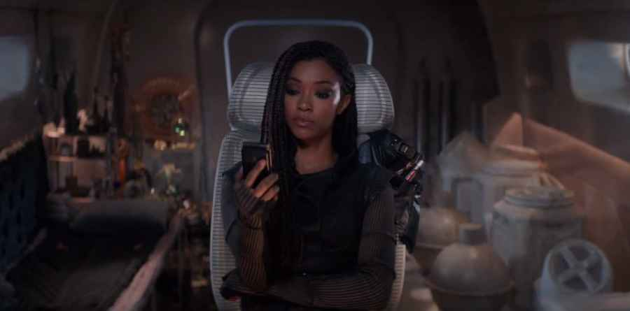 Michael Burnham discovers the source of The Burn on Star Trek: Discovery
