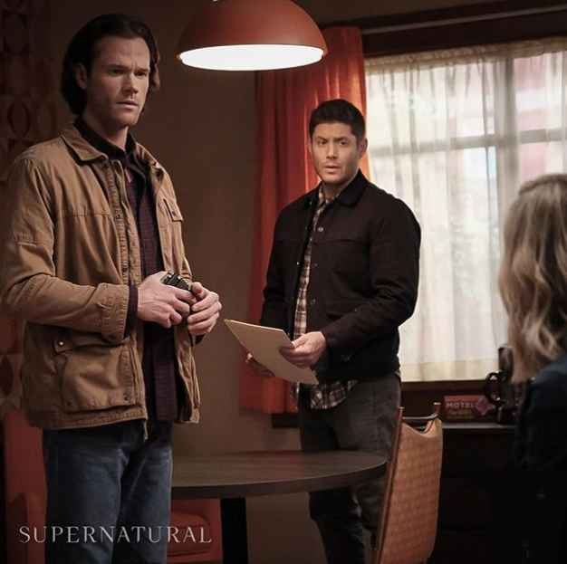 Jared Padalecki and Jensen Ackles as Sam and Dean Winchester on Supernatural