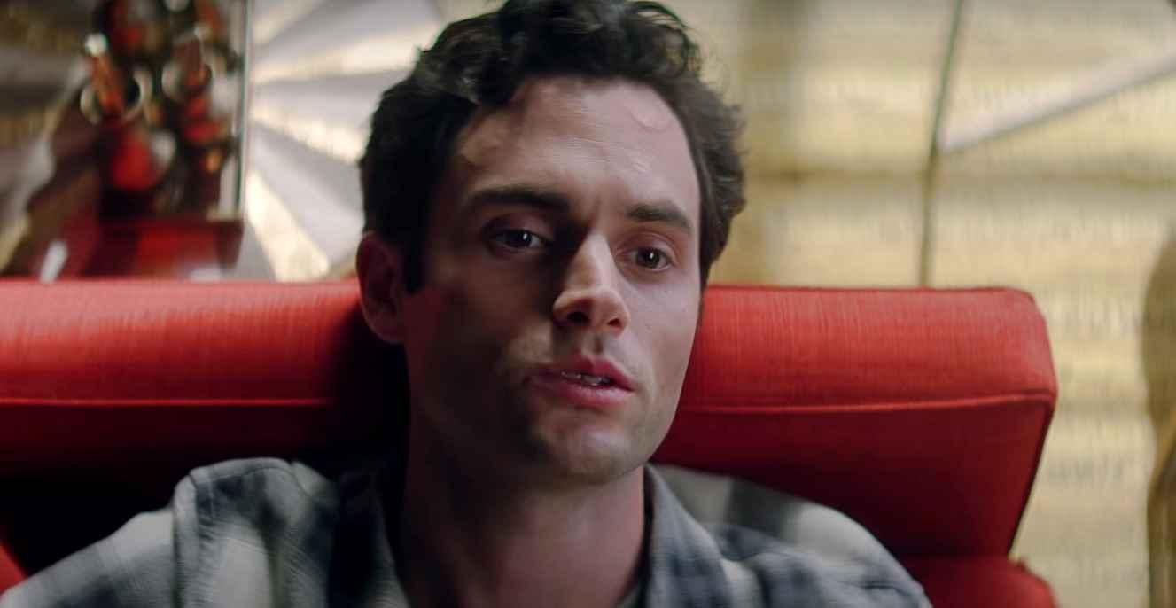 Penn Badgley of the Netflix psychological thriller You, heading for Season 3