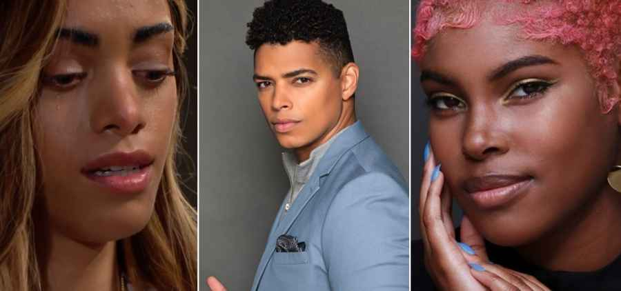 Zoe, Zende and Paris from The Bold & The Beautiful