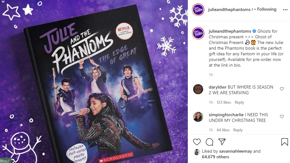 Julie and the Phantoms Instagram