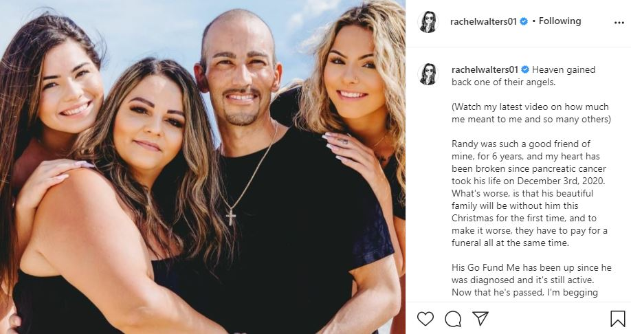 90 Day Fiance Rachel Walters gofundme