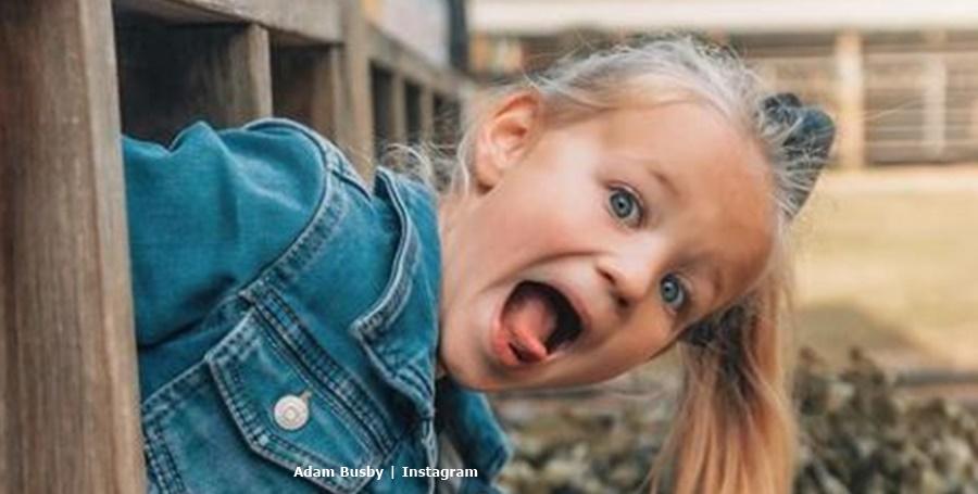 Adam Busby Daughter Riley