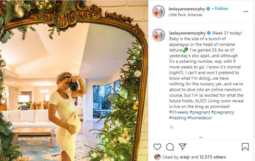 Bachelor Alum Lesley Murphy Pregancy Update