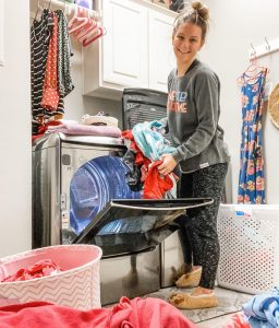 Danielle Busby laundry room