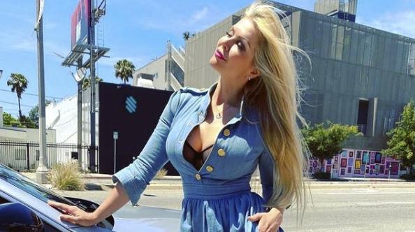 Elena Samodanova from Instagram