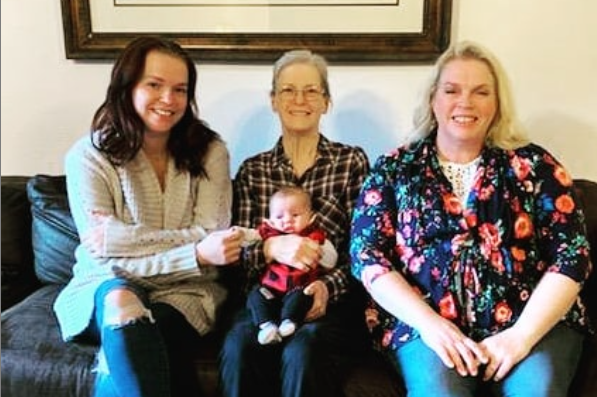 Janelle, Maddie and Mom, Sheryl Mother's Day