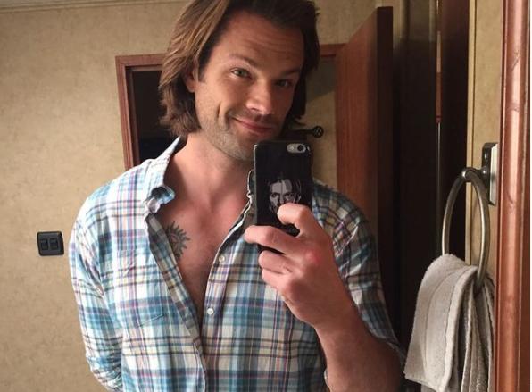 Jared Paladecki, Instagram Selfie