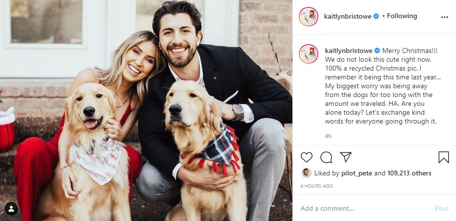 Kaitlyn Bristowe Throwback Christmas